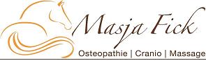 Masja Fick | Therapeut voor paarden logo